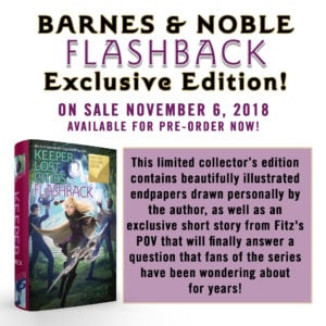 Pre-Order the B&N EXCLUSIVE Edition of FLASHBACK (before it sells out)!!!