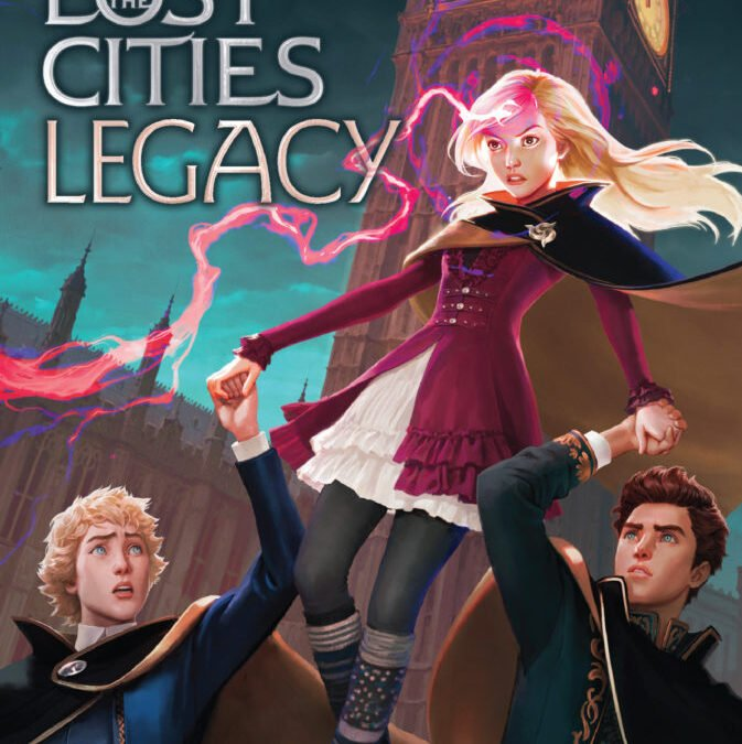 Behold: the gorgeous LEGACY Cover!